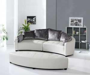 круглый диван 100 фото примеров использования круглого дивана в