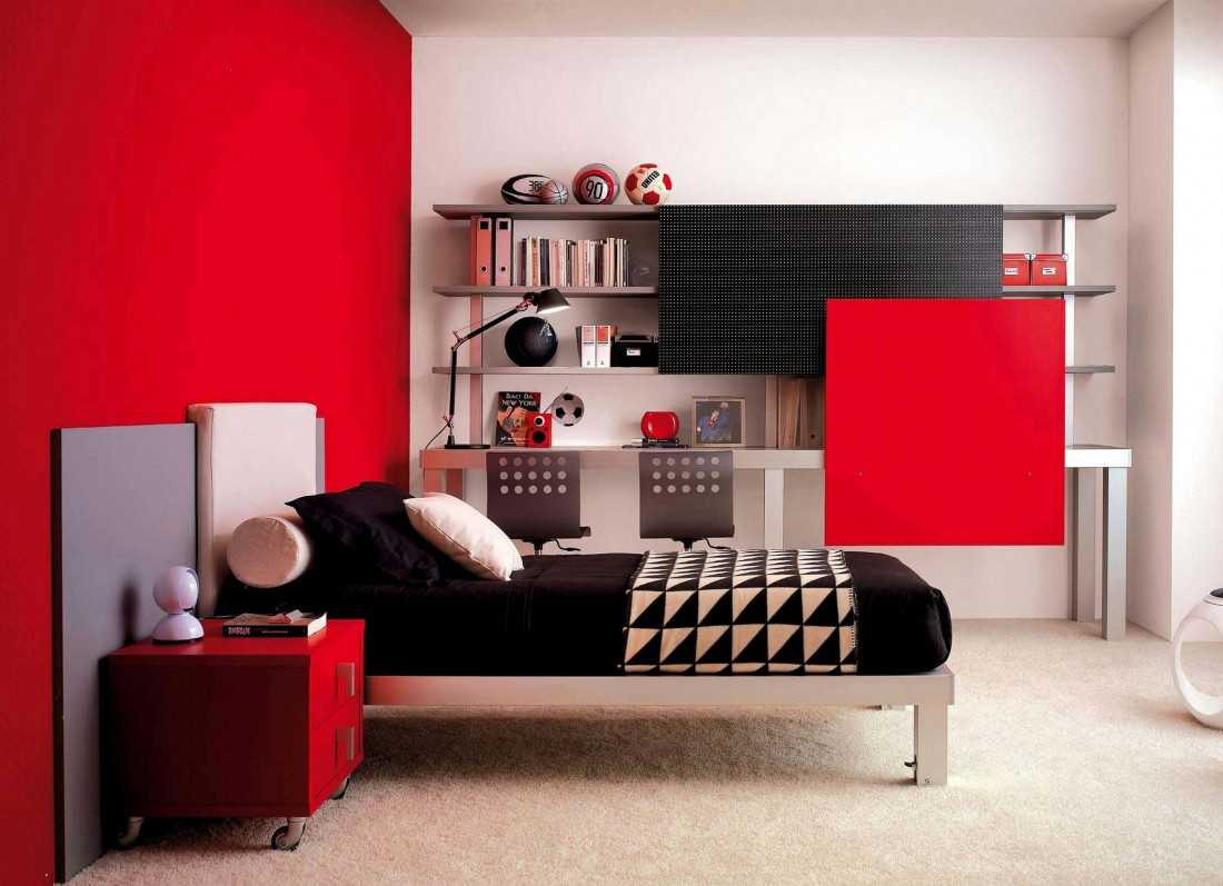Мебель для подростка: обустройство комнаты для девушки, юноши и двух детей (67 фото-идей)