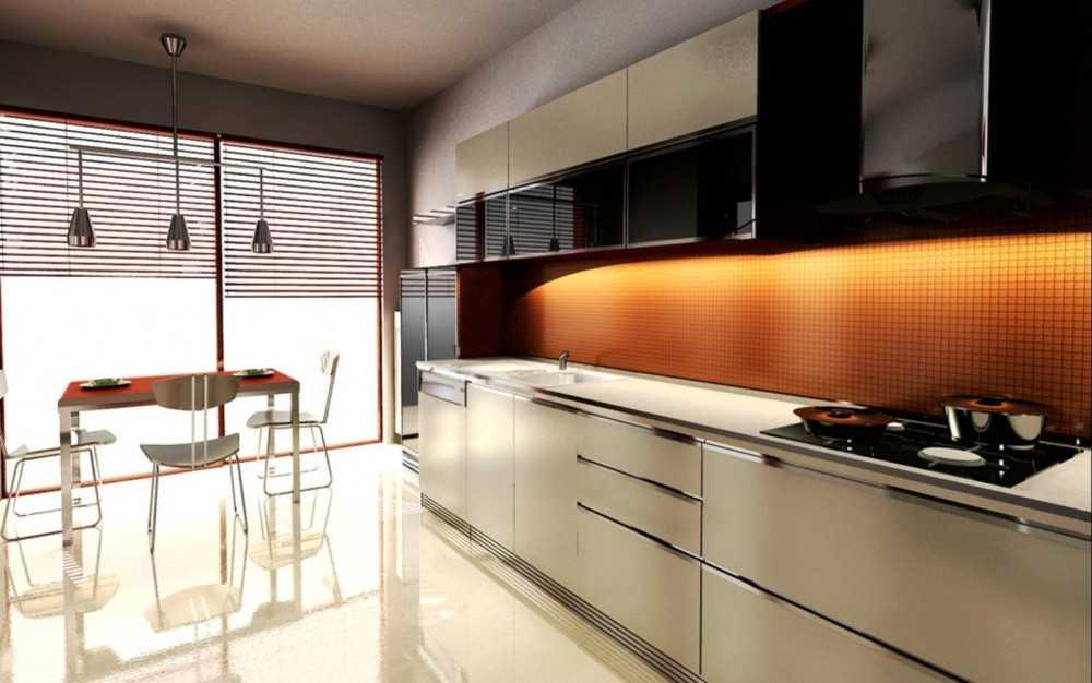 Modern indian kitchen interiors