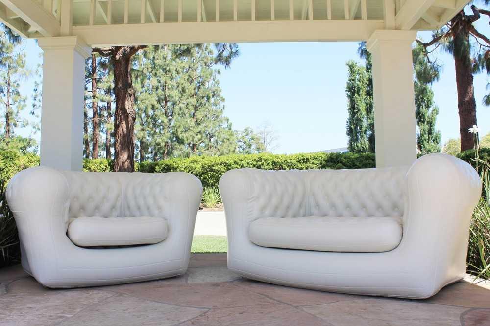Надувной диван (104 фото) — разновидности моделей и особенности выбора