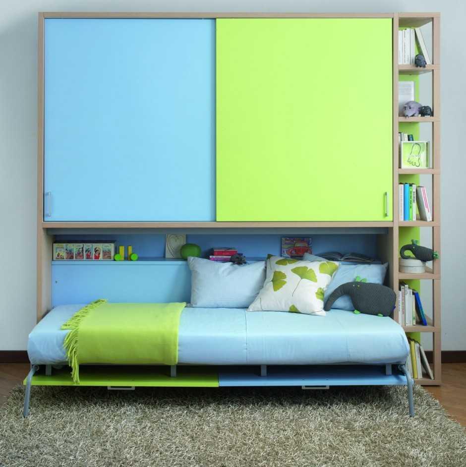 Детская шкаф кровать