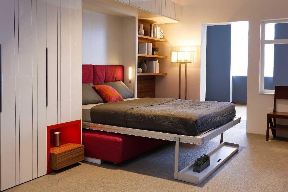 Как сделать постель на шкафу 830