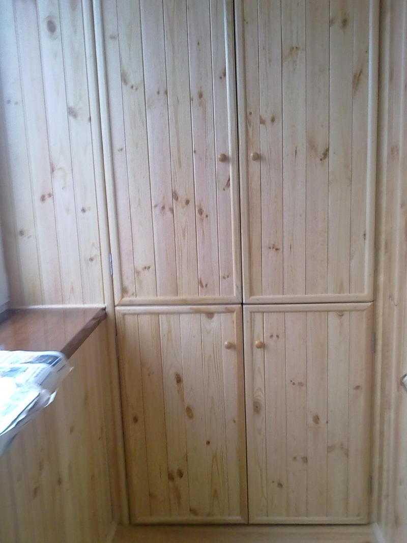 Как сделать дверь для балкона из вагонки 427