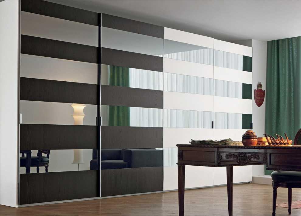 Шкаф с зеркалом - основные характеристики и особенности диза.