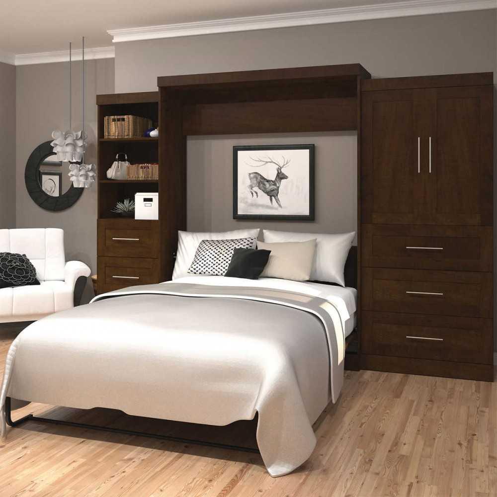 Как сделать постель на шкафу 750