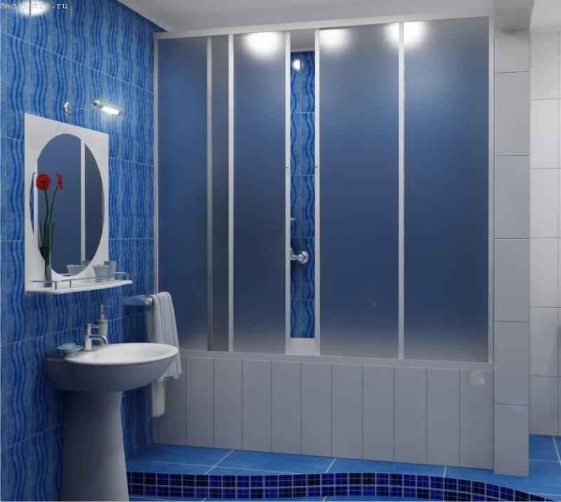 Штора для ванной пластиковая