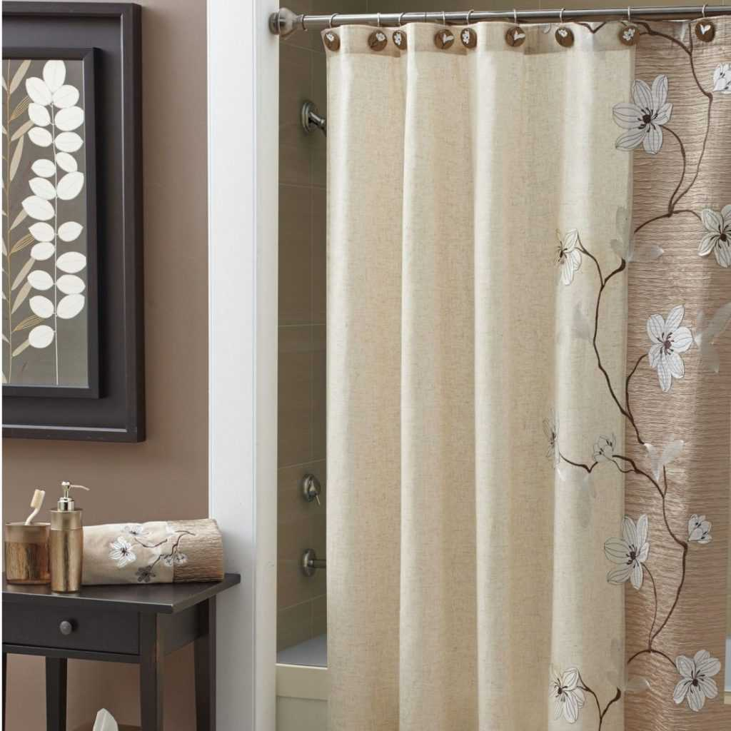 Croscill galleria shower curtain