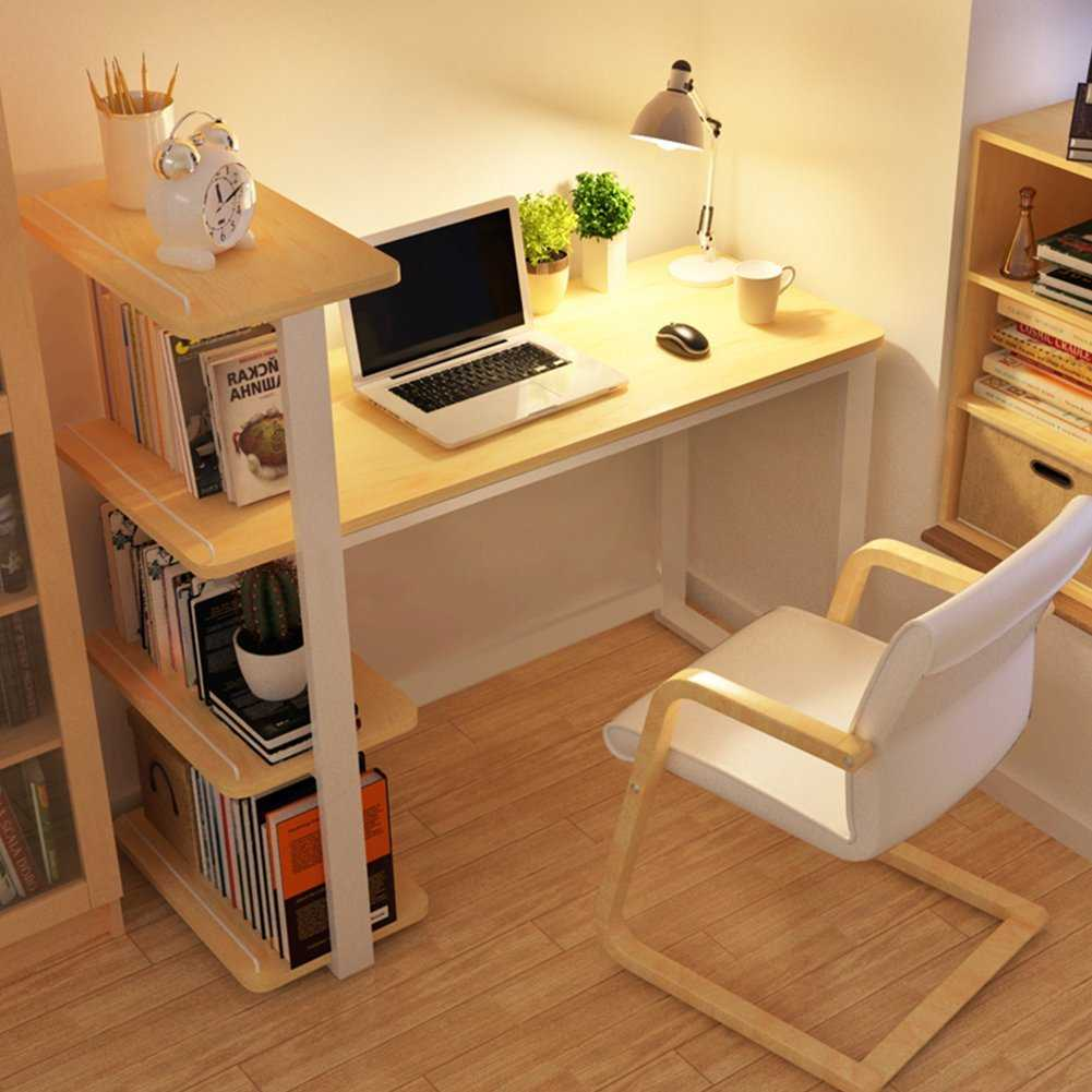 Маленький письменный стол: компактная малогабаритная модель .