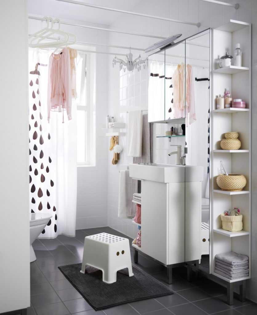 Ikea small bathroom
