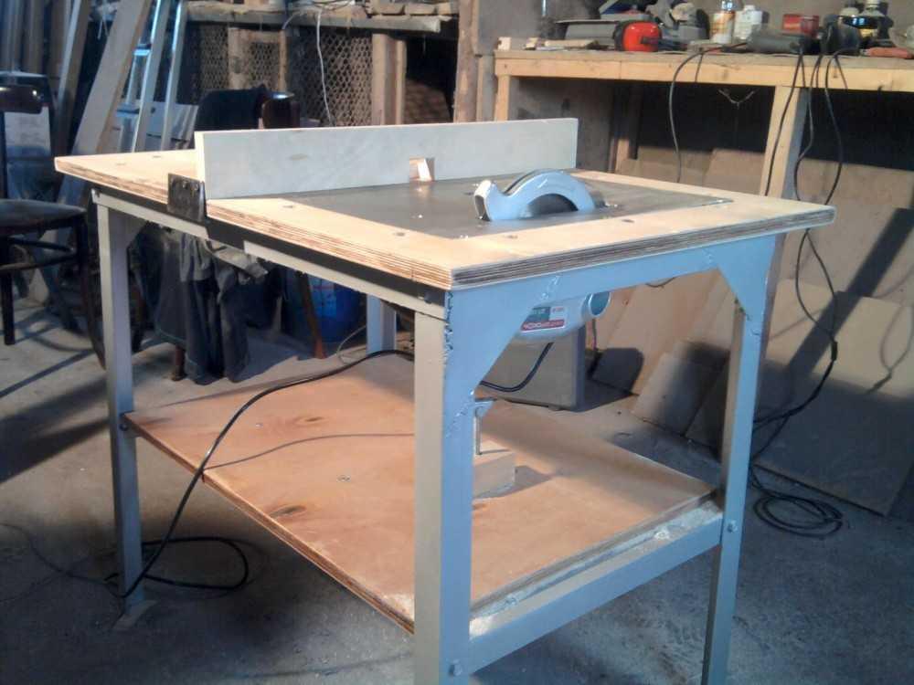 Как сделать ручной циркулярки стол