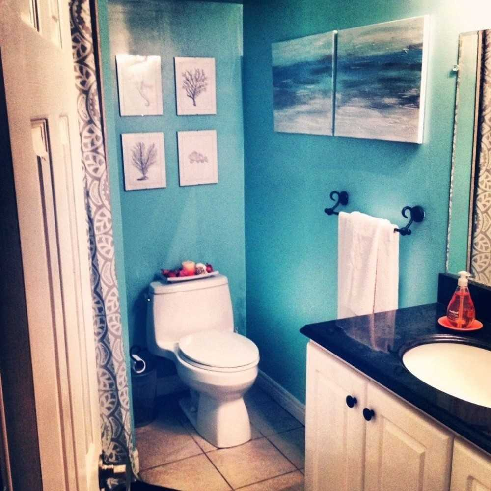 Простые идеи для ванной фото