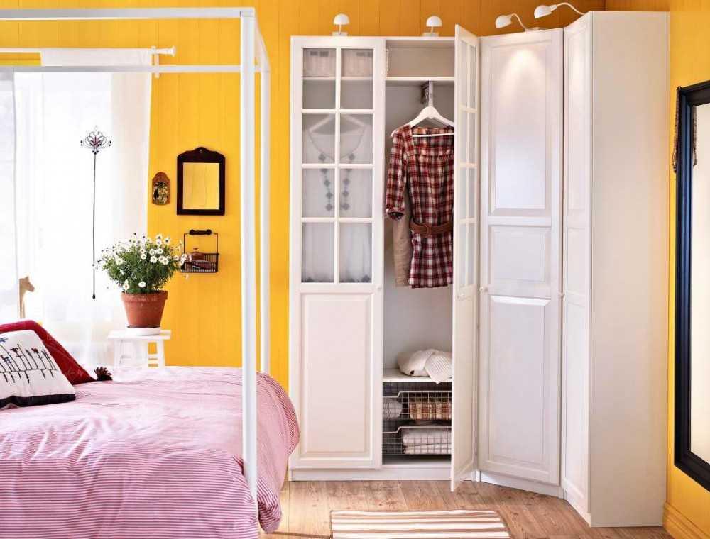 Шкафы икеа в интерьере реальные фото