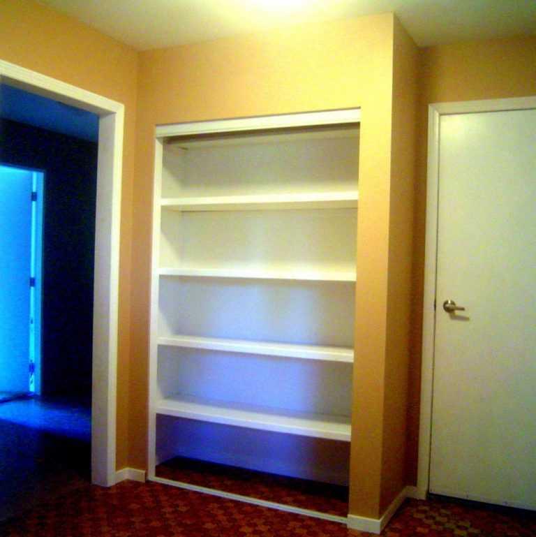 Встроенный шкаф-купе из гипсокартона своими руками 16