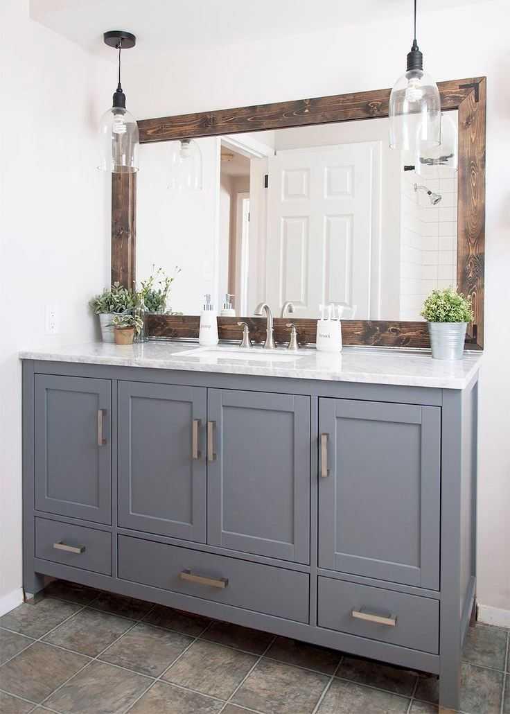 Зеркало в ванную — особенности выбора разнообразных конструкций. 87 фото современных конфигураций