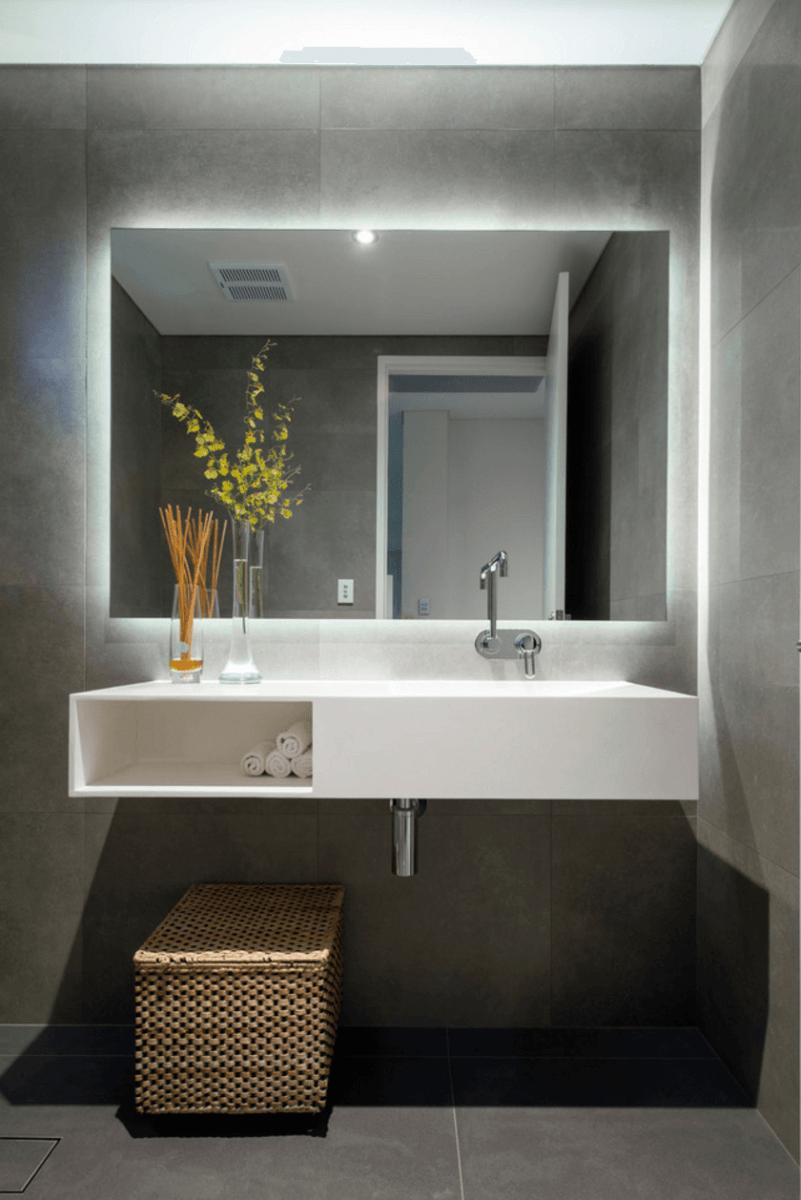 Extra large bathroom mirrors