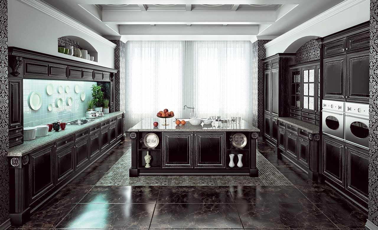Как правильно расставить кухонную мебель?