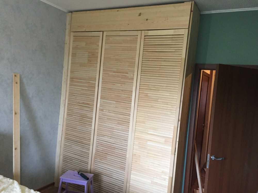 Легкий шкаф своими руками 60